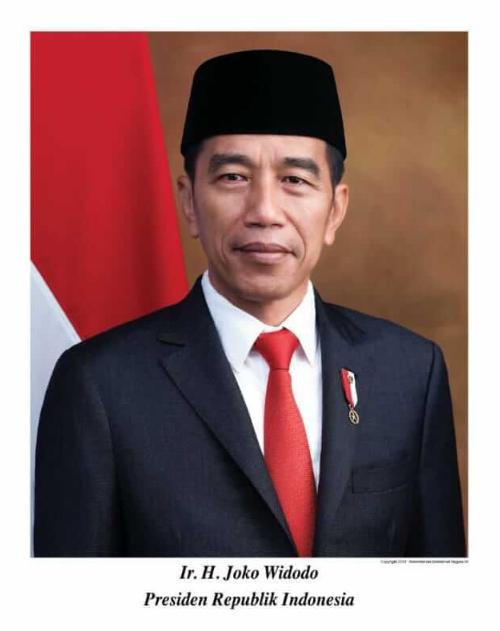 Download Foto Resmi Presiden Republik Indonesia 2019-2024