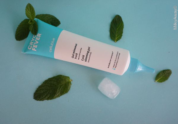 Gel minceur froid ventre et hanches gamme Cryo Fever Cellublue®