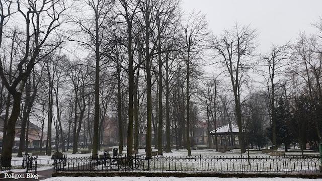 park, Niepołomice, blisko rynku, Małopolska