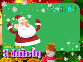 st. Nicholas day e-cards greetings free download