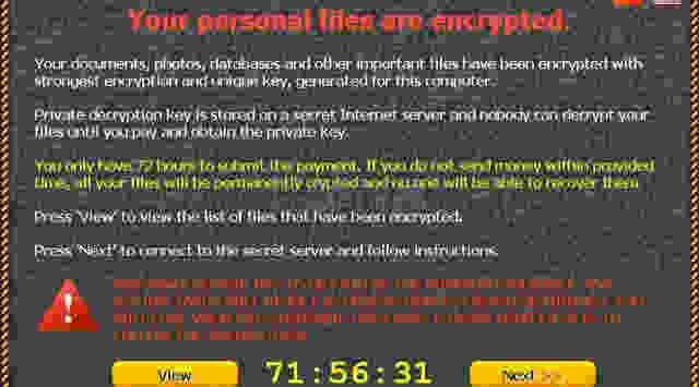 Virus Baru Ransomware Berbahaya
