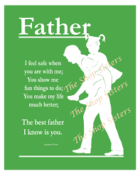 Fathers day image with poem