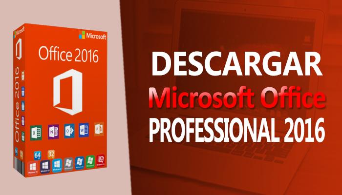 descargar microsoft office 2016 desde mega