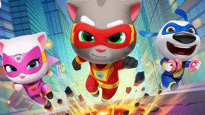 Talking Tom Hero Dash MOD APK v1.5.0.833 [Unlimited Money]