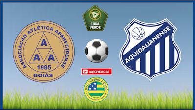 Aparecidense estreia nesta quarta feira (20) na Copa Verde