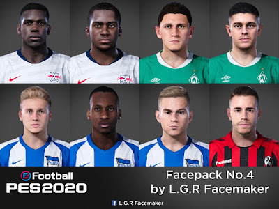 PES 2020 Facepack No.4 by L.G.R Facemaker