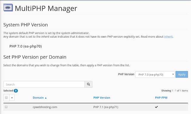 Multi-PHP Manager