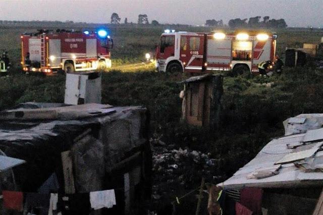 Foggia: baracche distrutte da un incendio a Borgo Mezzanone