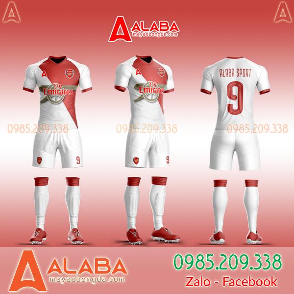 Áo CLB Arsenal tự thiết kế mã ARB AR01 đẹp