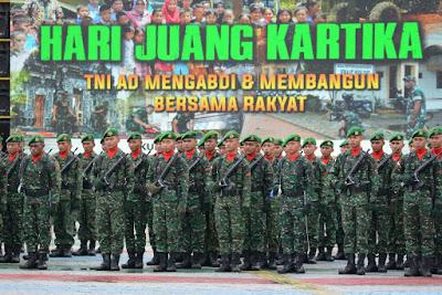TNI AD Mengabdi dan Membangun Bersama Rakyat