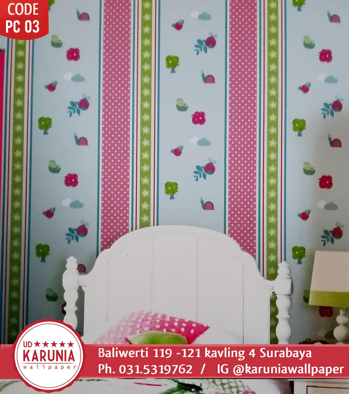 toko wallpaper dinding warna warni menawan