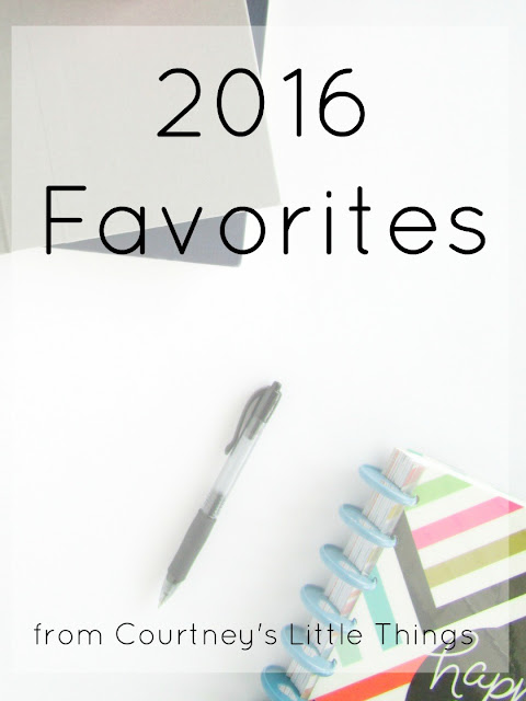 My Favorite Things from this Year