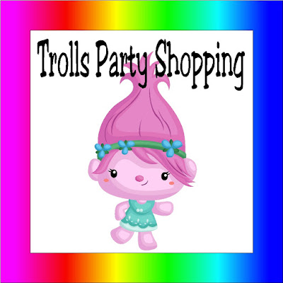Get ready for your Trolls birthday party with a quick and easy shopping guide that has some unique and fun party favors, party treats, party decorations, and more. You'll have the most fun party of all the Trolls with these great party ideas.
