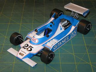 Ligier JS11 - Patrick Depailler - Argentine GP 1979 (spinler)