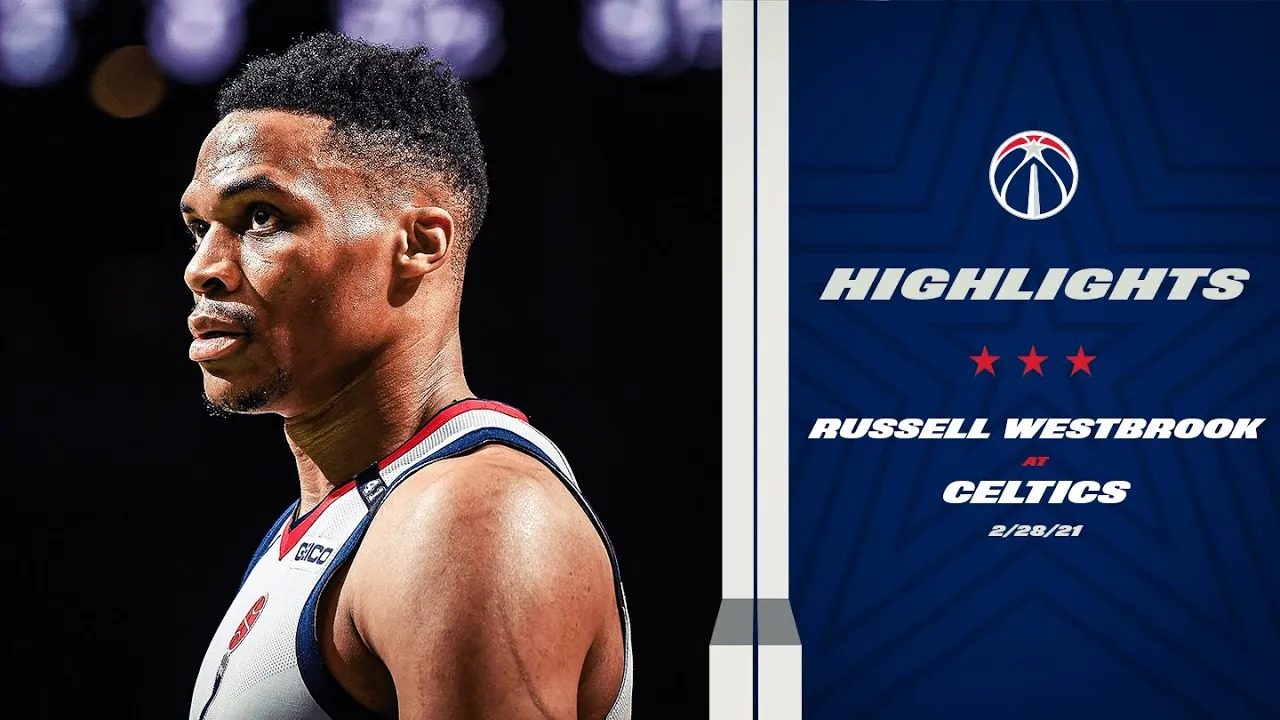 Russell Westbrook 24pts 11reb 4ast vs BOS   February 28, 2021   2020-21 NBA Season