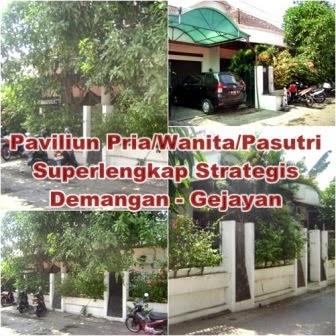 paviliun strategis disewakan