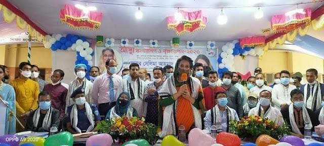 কুমিল্লায় হোমনায় আস্থা স্কলারশিপ এবং বৃক্ষরোপণ উদ্বোধন