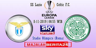 Prediksi Lazio vs Celtic — 8 November 2019