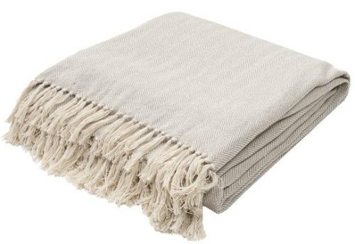 herringbone throw blanket for spring