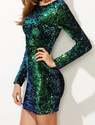 Green Sequin