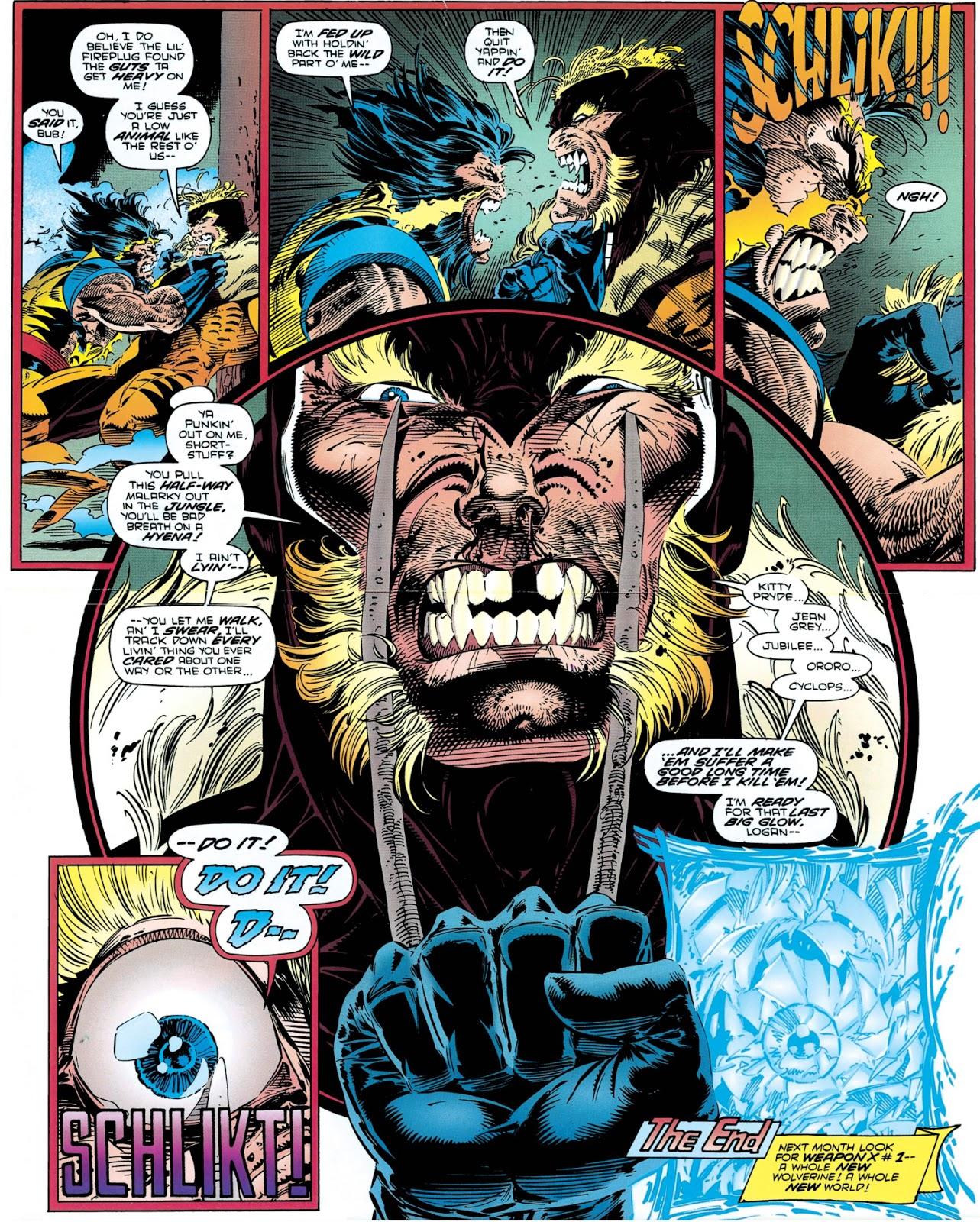 Gentlemen of Leisure: X-amining Wolverine #90