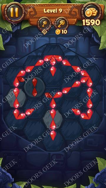 Gems & Magic [Emerald] Level 9 Solution, Walkthrough, Cheats