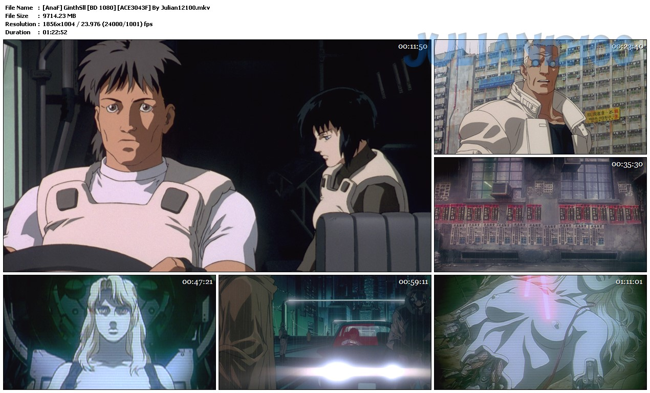 Ghost in the Shell 01/01 [Tri Audio] [BD] [1080p] [MEGA – 1FICHIER – GOOGLE DRIVE]