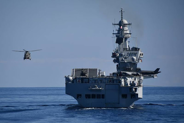 ItN F-35B takes part in main Italian Navy exercise for first time