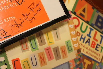 Activity Idea for QUILT COUNTING by Lesa Cline-Ransome via www.happybirthdayauthor.com