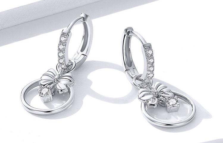 心動奇蹟 925純銀鋯石耳環