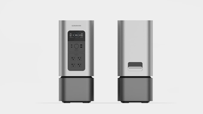 The Generark HomePower 2 Portable Solar Generator - Available for Pre-order