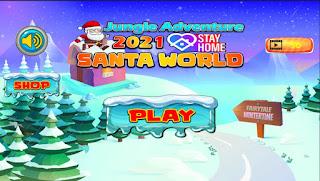 Jogo grátis Jungle Adventure Santa World 2021