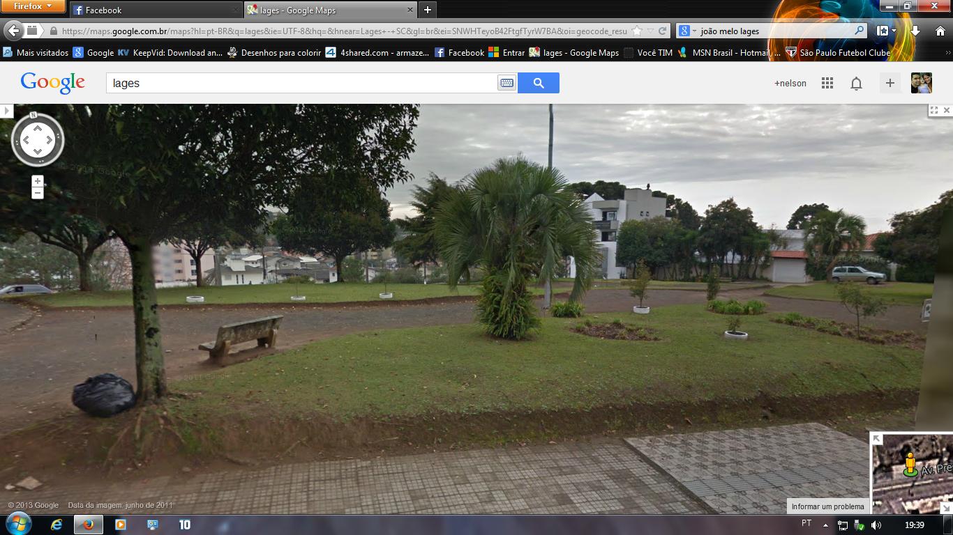 5028a41e75c nelsonboeira.com  Praça do Monumento Correia Pinto limpa só por fotos  antigas