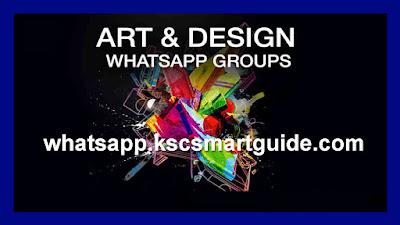 Join Art & Design WhatsApp Group Link List 2020