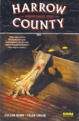 Harrow County de Bunn y Crook - comic terror fantasmas