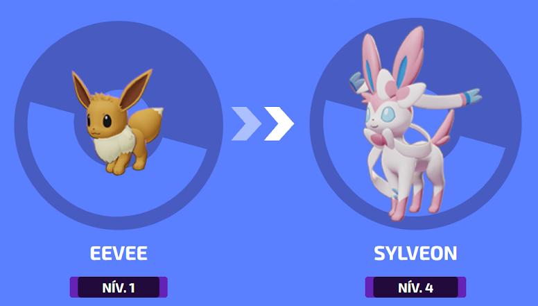 Pokémon Unite - Evoluções Sylveon