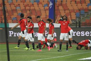 ملخص واهداف مباراة مصر وجزر القمر (4-0) تصفيات كاس امم افريقيا