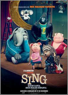 Baixar Sing Quem Canta Seus Males Espanta Torrent Dublado - BluRay 720p/1080p