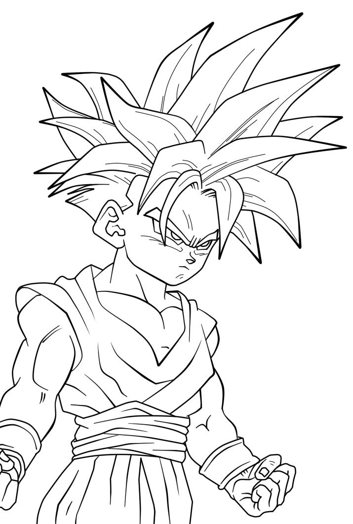 Dragon Ball Desenhos Para Colorir