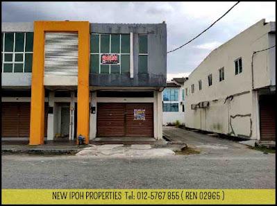 Ipoh Pasir Puteh Double Storey End Lot Shop For Sale ( C02377 ) - RM 428K (Neg)