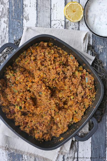 One Pot Couscous-Pfanne mit Hackfleisch | Rezept | Essen | Kochen