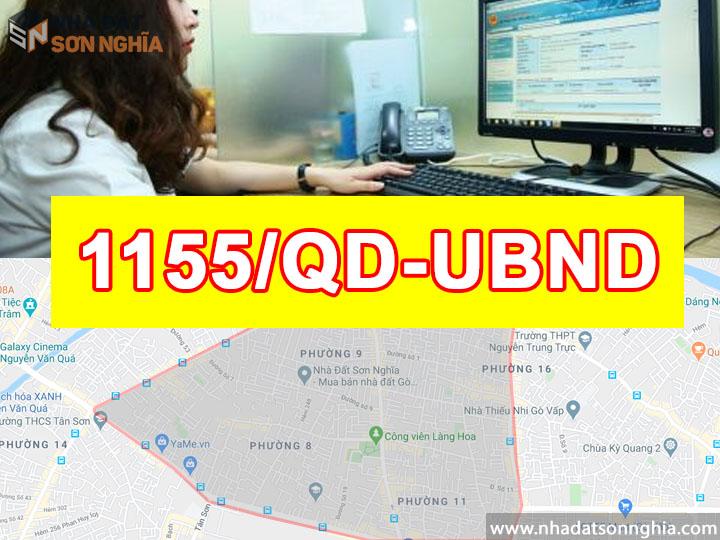 Quyết định số 1155/QĐ-UBND
