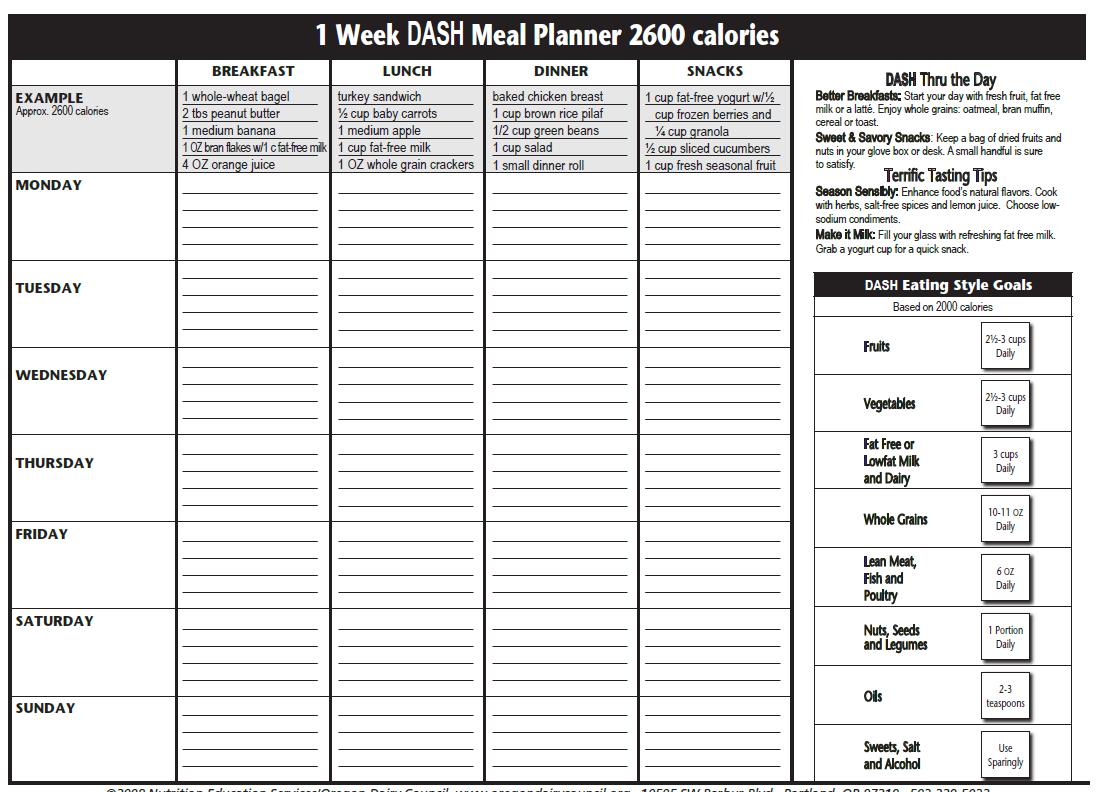 The Dasht Plan