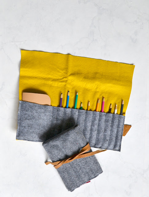 how to make a pencil roll