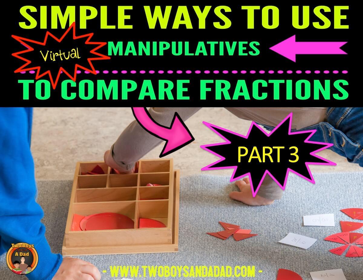 Comparing Fractions using Google Slides