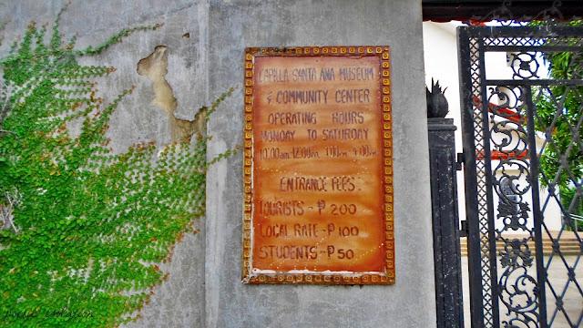 Capilla Sta. Ana Toledo City