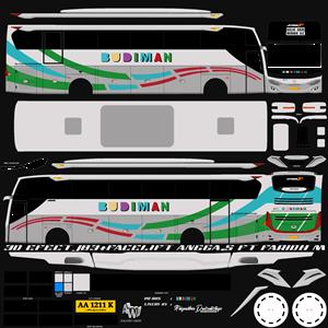 Livery Budiman JB3+ Cvt Faridh Madyawan