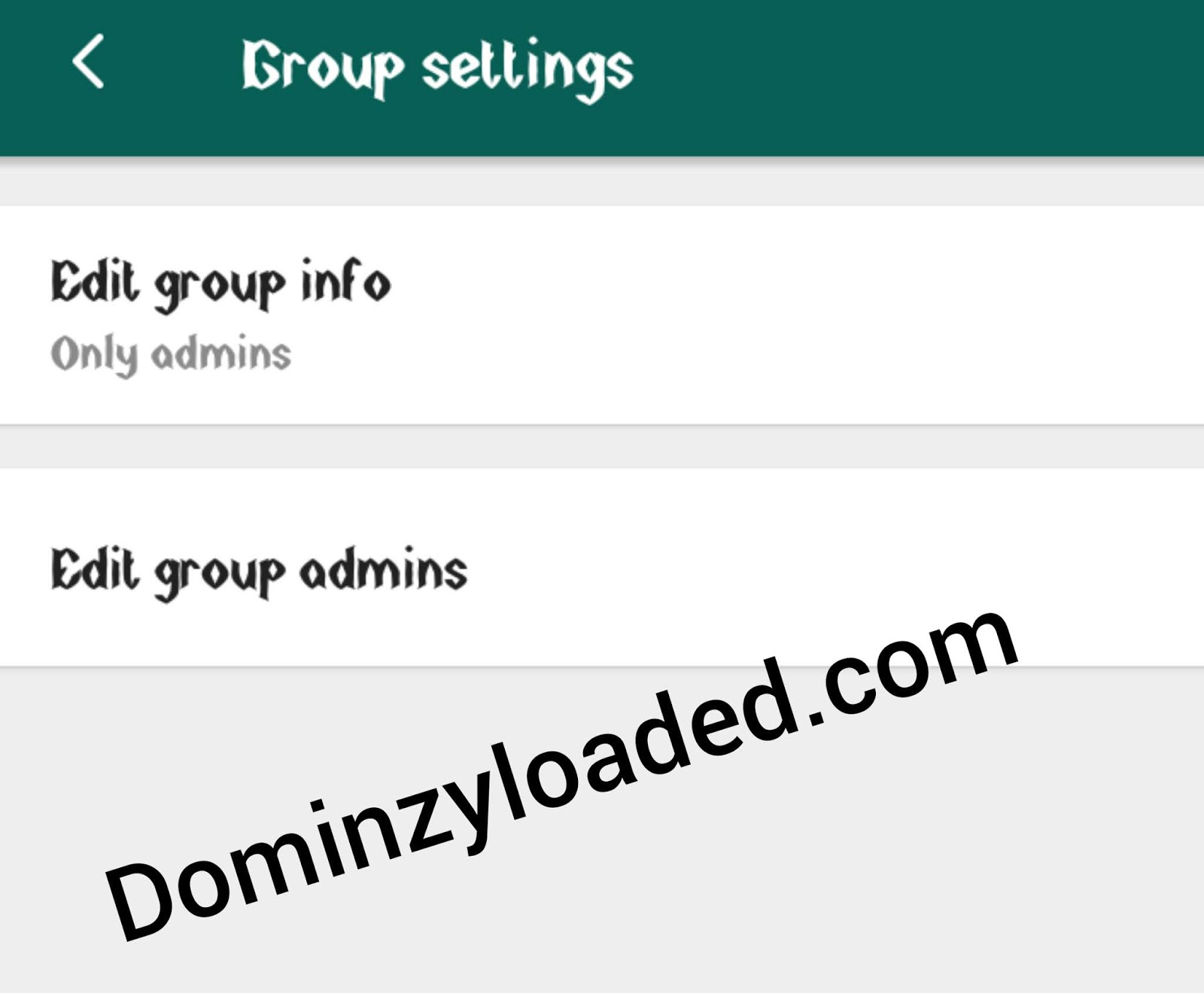 how to change inactive group admin in whatsapp