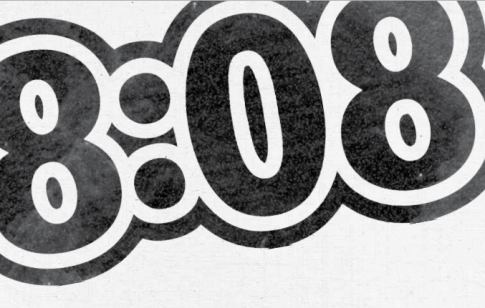 """Many readers who find me here ask the same question, """"What's the meaning of  808?"""" They tell me over and over, """"I keep seeing it everywhere."""