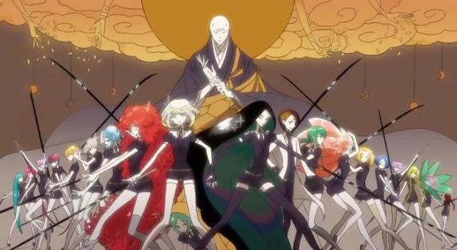 Anime Bagus Underrated  yang Jarang Ditonton/Direkomendasi - Houseki no Kuni